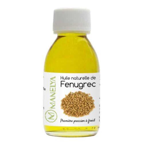 huile de fenugrec 125ml manelya bis