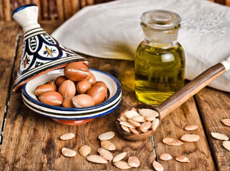 L'huile d'argan bio pour cheveux