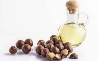 L'huile végétale de macadamia bio pour cheveux
