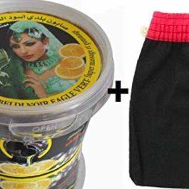Savon noir aux extraits de citron 250 + Gant Kessa